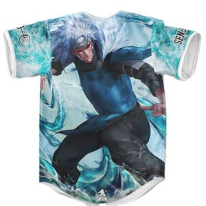 Epic Tobirama Senju Water Style Jutsu Battle Mode Baseball Jersey