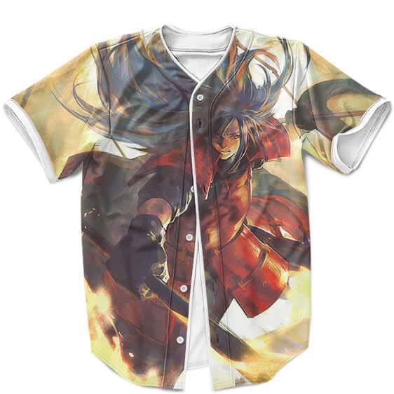 The Strongest Shinobi Madara Uchiha Awesome Artwork Baseball Shirt