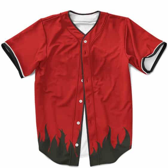 Sage Mode Naruto Uzumaki Costume Cosplay Red Baseball Shirt