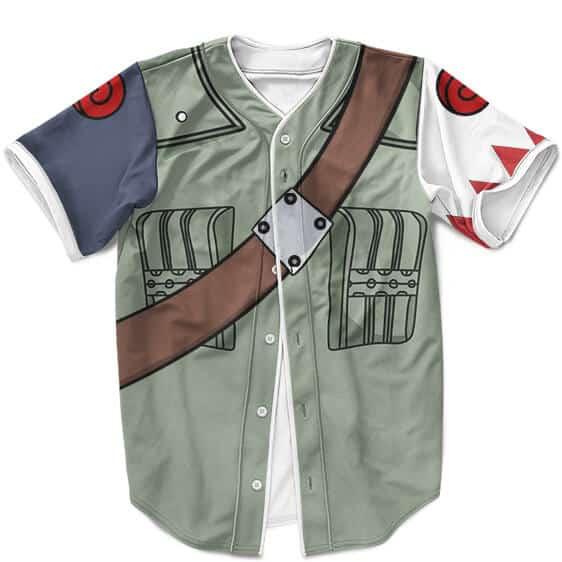 White Fang Sakumo Hatake Costume Cosplay Baseball Jersey
