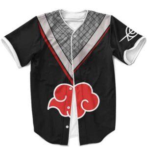 Itachi Uchiha Akatsuki Costume Cosplay MLB Baseball Jersey