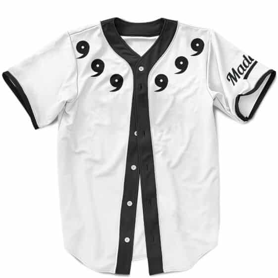 Madara Uchiha Sage Of Six Paths Cosplay Costume Baseball Shirt