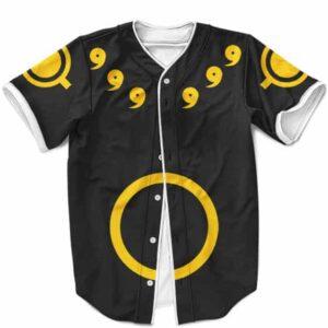 Naruto Uzumaki Sage Of Six Paths Cosplay Costume Black Baseball Shirt