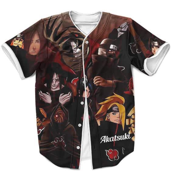 Awesome Akatsuki Art Design All Over Print Baseball Jersey