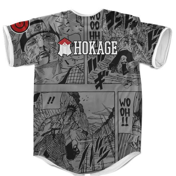 Naruto Uzumaki Hokage Manga Background Baseball Uniform