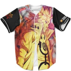 Fierce Naruto Uzumaki Sage Mode Baseball Jersey
