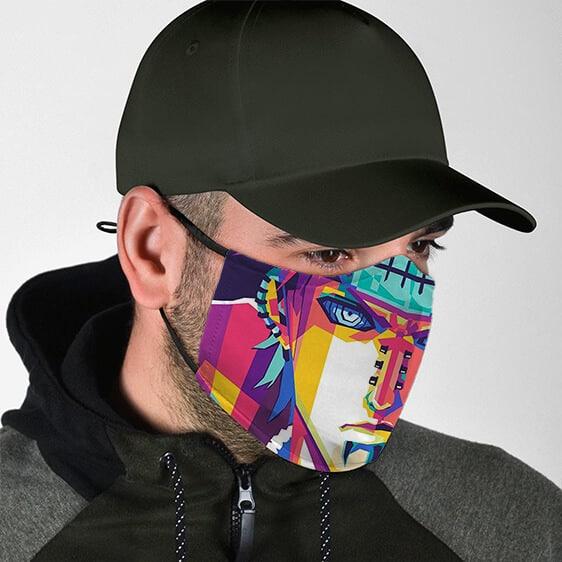 Badass Pain Nagato Fierce Pop Art Naruto Cloth Face Mask