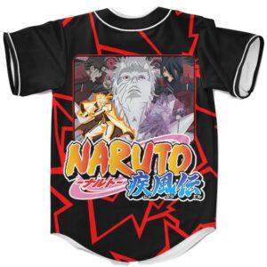 Baseball Jersey Naruto Sasuke Madara Hashirama Obito Battle