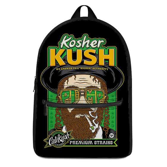 Cali Kush Farms Premium Strains Jewish Smoking Weed Backpack