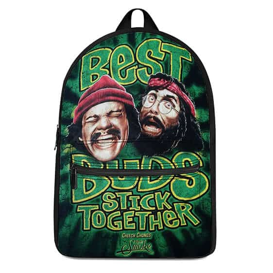 Cheech and Chong Best Buds Stick Together Cool Dope Backpack