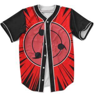 Cool Uchiha Itachi And Sasuke Sharingan MLB Baseball Shirt
