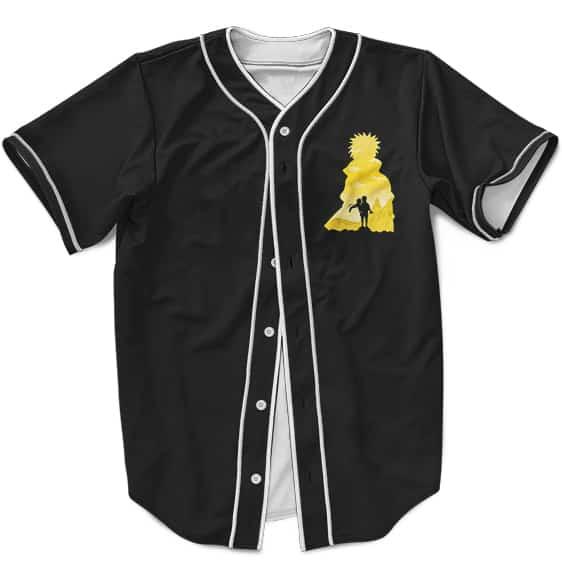 Cute MLB Baseball Shirt Namikaze Minato And Uzumaki Kushina