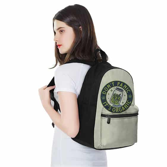 Don't Panic Its Organic Kush Icon Most Awesome Dope Backpack