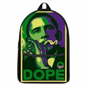 Dope Barrack Obama Smoking Blunt Awesome and Dope Backpack