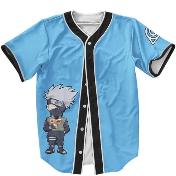 Dope MLB Baseball Uniform Kakashi Sensei Chibi with Sharingan