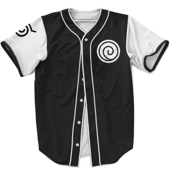 Dope MLB Baseball Shirt Naruto Boruto Combined Rasengan