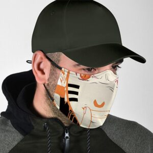 Epic Naruto Uzumaki Six Paths Sage Mode Filtered Face Mask