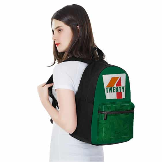 Four Twenty 7-Eleven Style Cannabis Pattern Dopest Backpack