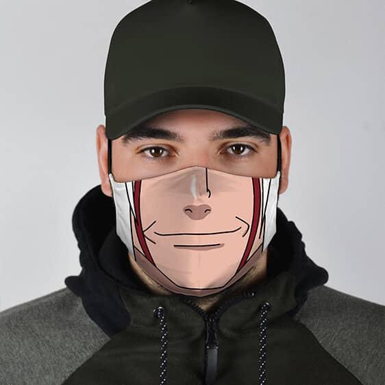 Legendary Sannin Jiraiya Lower Face Amazing Naruto Face Mask