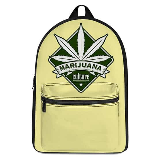 Marijuana Culture Icon Most Awesome Dopest Coolest Backpack