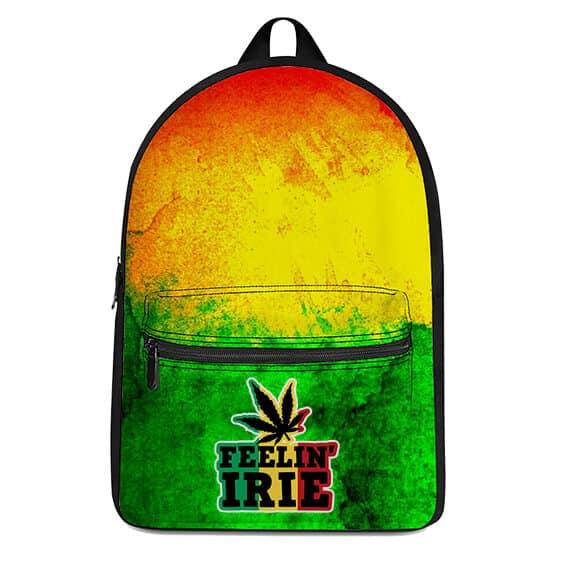 Marijuana Feeling Irie Rastafarian Dope Weed Rucksack