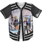Naruto And Boruto Cool Baseball Jersey New Generation Team 7