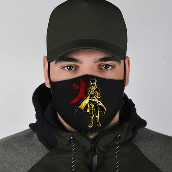 Fourth Hokage Minato Namikaze Silhouette Badass Face Mask