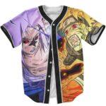 Naruto Jinchuriki Form Cursed Seal Sasuke Dope Baseball Jersey