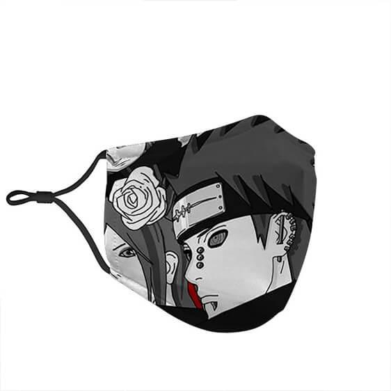 Fierce Villains Pain Nagato With Akatsuki Naruto Face Mask
