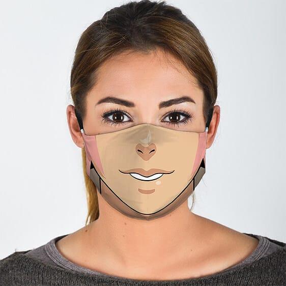 Sakura Haruno Girly Lower Face Lovely Naruto Face Mask