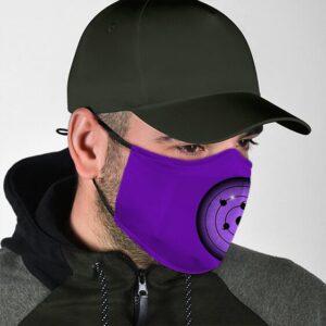 Sasuke Rinnegan Supreme Sharingan Powerful Naruto Face Mask