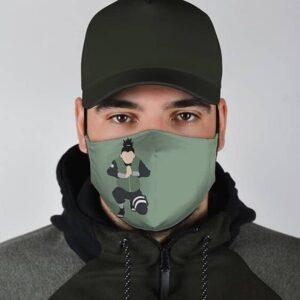 Shikamaru Ninjutsu Illustration Naruto Shipudden Face Mask