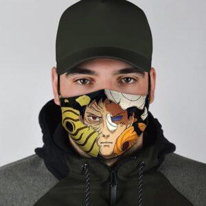 Obito Uchiha Destroyed Masks Sharingan Cool Naruto Face Mask