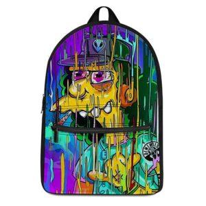 Otto Man on Spliff Trippy Melting Pop Art Cool Dope Backpack