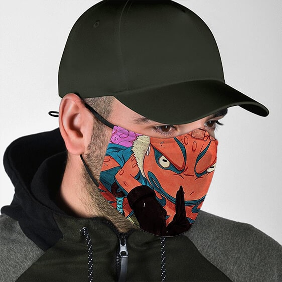 Epic Toad Gamakichi Smoking Art Work Dope Naruto Face Mask