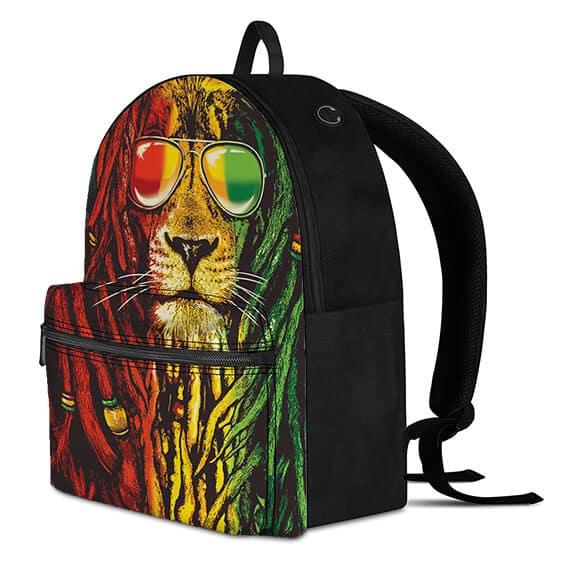 Rastafarian Dread Locked Lion Illest Dopest Coolest Backpack