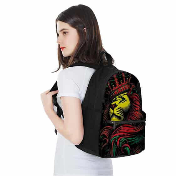 Rastafarian Lion King 420 Most Coolest and Dopest Backpack