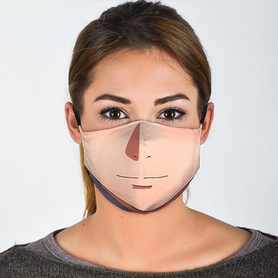 Sakura Haruno Lower Face Design Lovely Naruto Face Mask
