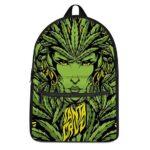 Santa Cruz Sativa Leaves Woman Dopest and Coolest Backpack