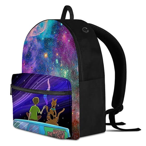 Star Gazing Shaggy and Scooby Smoking Weed Awesome Backpack
