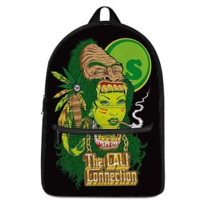 The Cali Connection Spliff Smoking Woman Righteous Backpack