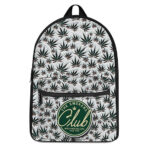 The Smokers Club World Wide Rollers Weed Pattern Backpack