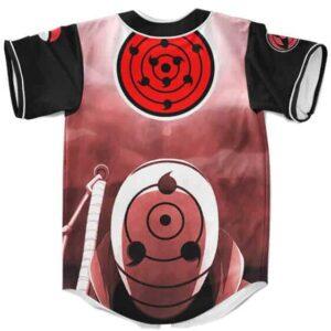 Uchiha Obito Sharingan Infinite Tsukuyomi Baseball Shirt