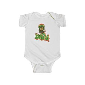 Rastaman Reggae Stoner Art Amazing 420 Weed Infant Onesie