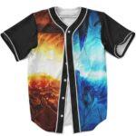 Uzumaki Naruto Uchiha Sasuke Rinnegan Cool Baseball Shirt