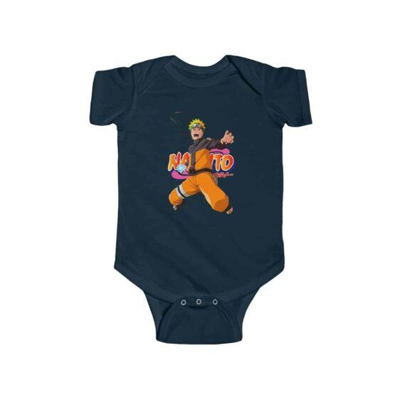 Serious Uzumaki Naruto Rasengan Awesome Baby Toddler Onesie