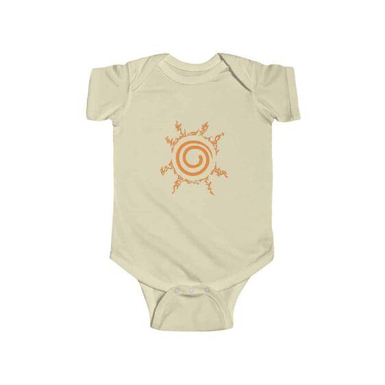 Naruto Eight Trigrams Sealing Symbol Cool Baby Onesie
