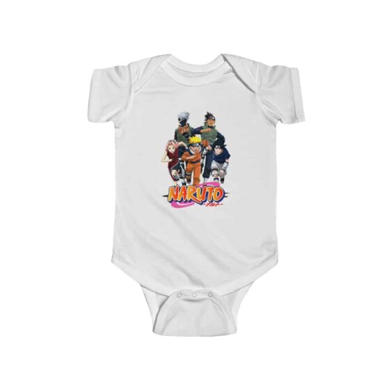 Naruto Shonen Jump Team 7 Kakashi and Iruka Infant Bodysuit