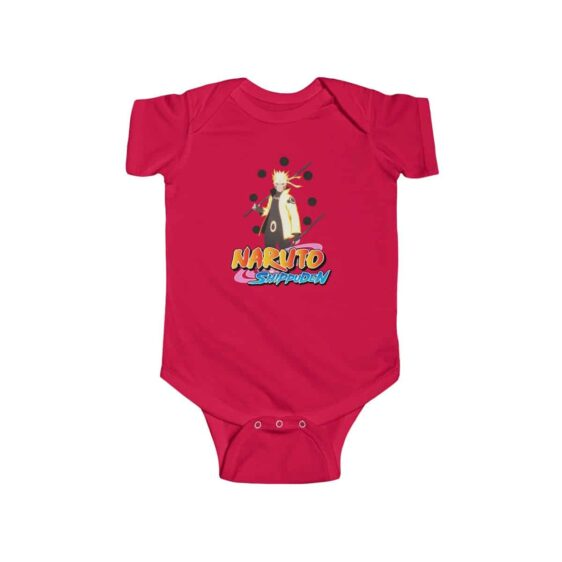 Stunning Uzumaki Naruto Six Path Kurama Mode Infant Onesie