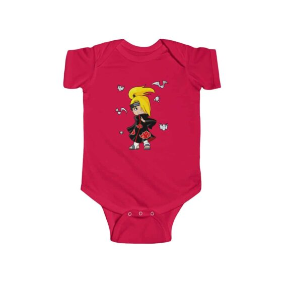 Akatsuki Member Deidara Amazing Naruto Baby Toddler Bodysuit